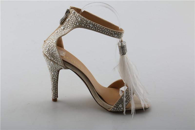 Wholesale Girls Tassel Embellished Thin High Heels Dress Shoes For ... 493ebdc028b4