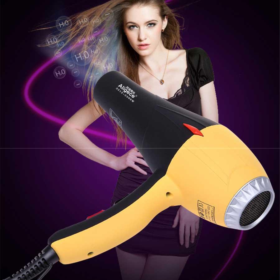 Peluquería profesional Peluquería Secador de pelos Hogar secador de pelo de viento caliente y frío Hotel Secador de pelo de alta potencia 110v