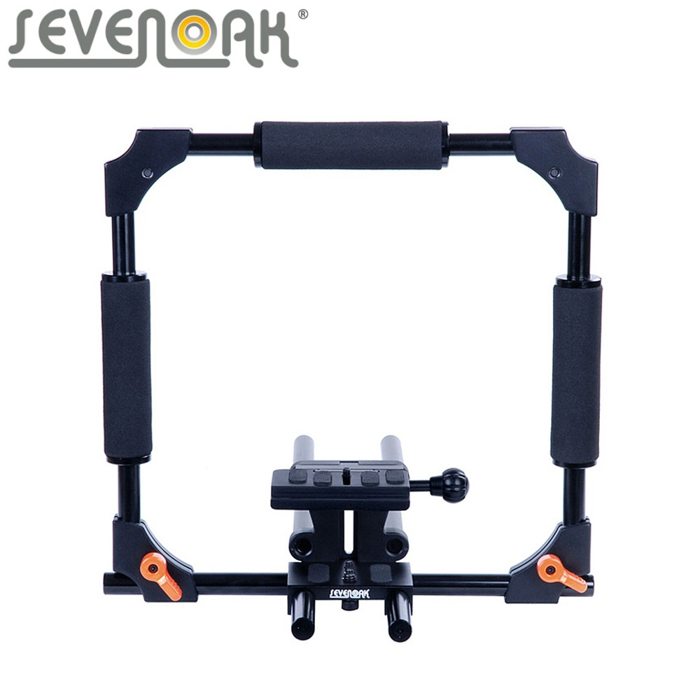 Sevenoak-SK-C01-15mm-Rod-PRO-Camera-Cage-SteadyCam-System-for-Canon-5D-5D-Mark-II