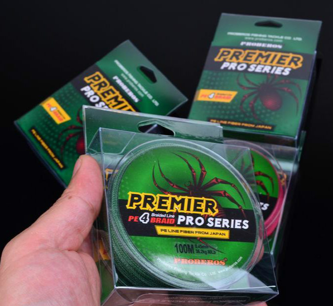 PREMIER PRO Series 4 Strand Braid Line Ocean Rock Spectra Fshing Wire 100m PE Line Fiber From Japan 18lb~100lb