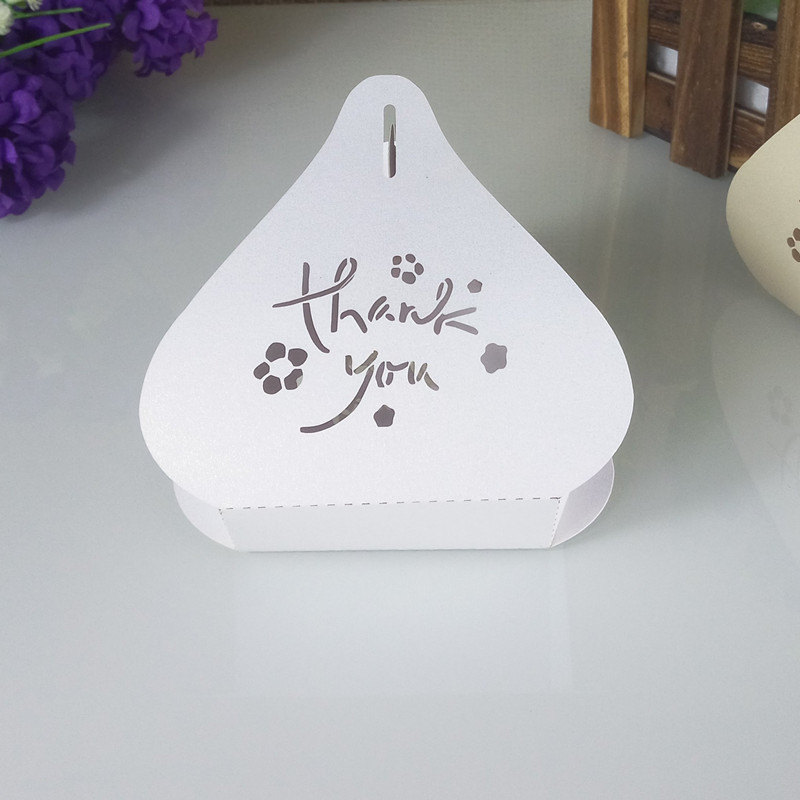 laser cut peach shaped Christmas candy box wedding candy gift box birthday anniversary party decoration 5ZT56