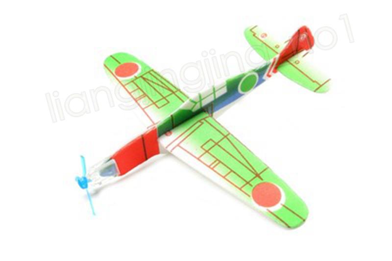 Niños Magic Flying Gliders Avión Avión Tiro a mano Espuma Volver Avión Niños DIY Modelo de Aviación Educativa Juguetes Artículos Novedad GGA1205