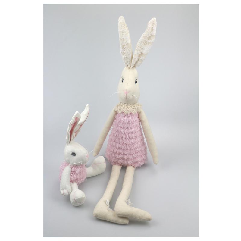 Easter Kawaii Bunny Rabbit Soft Plush Toy Easter Bunny Stuffed Animal Doll Gift
