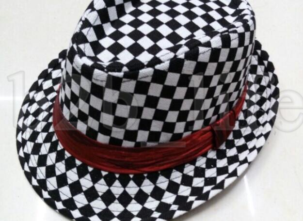 Baby Girl//Boy Toddler Cap Fedora Hat Jazz Cap Photography Cotton Trilby Top US