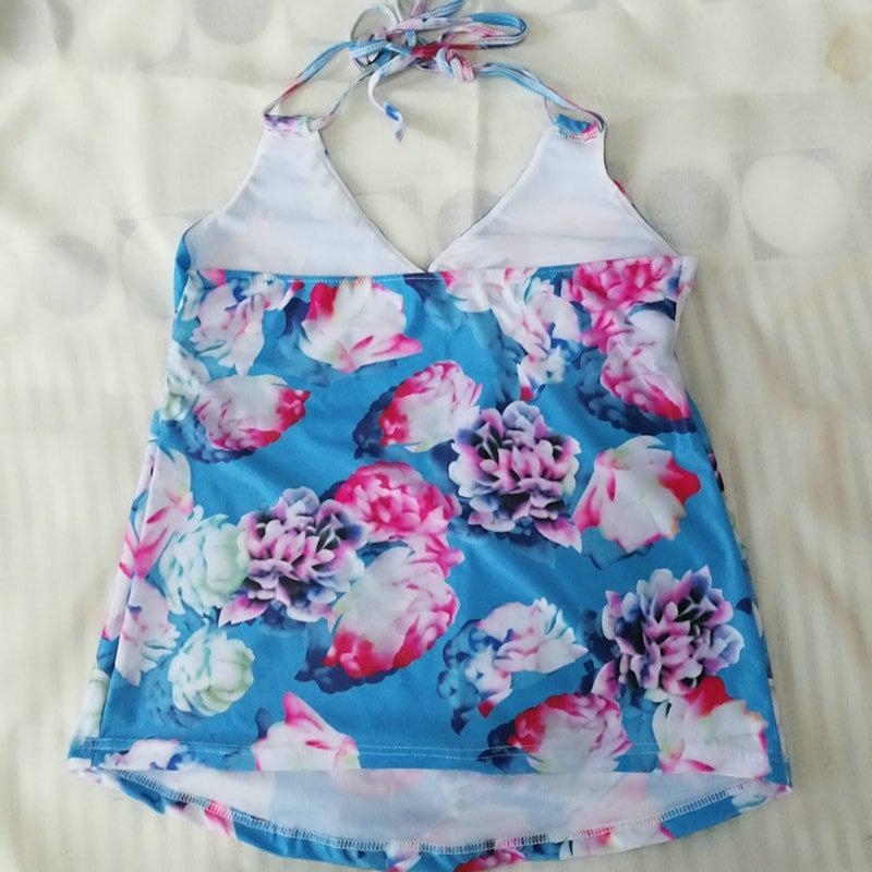 Maternity Women Swimwear Tankini Floral Pregnancy Swimsuit Suits Beach Summer Bikini Bathing Sexy Clothing For Pregnant Women (45)