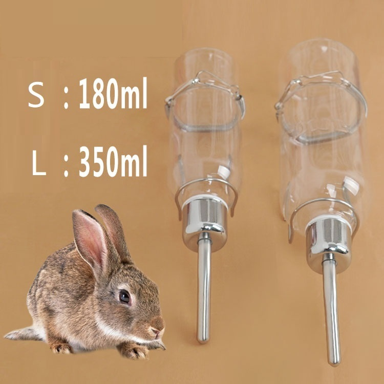Pets Hamster Water Dispenser Plastic Rabbit Automatic Water Drinking Bowl Hamster Hanging Auto Drinker