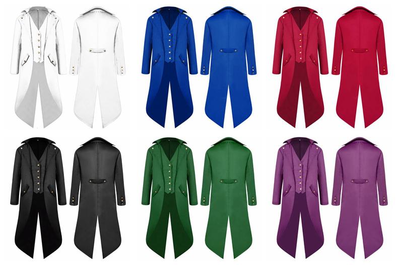 Men's Tuxedo Formal Dress Swallow-tailed Coat Classic Cloak Gentleman Blazers Clothing Party Banquet Costume NNA728
