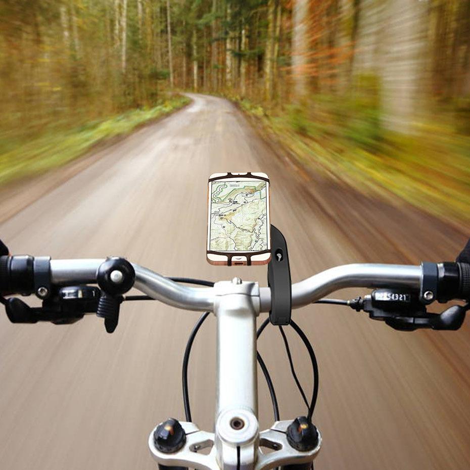 360 Degree Rotation Bicycle Phone Holder For Iphone X Iphone 8 Smartphone Bike Handlebar Mount Bracket Navigation Stand Holder (6)