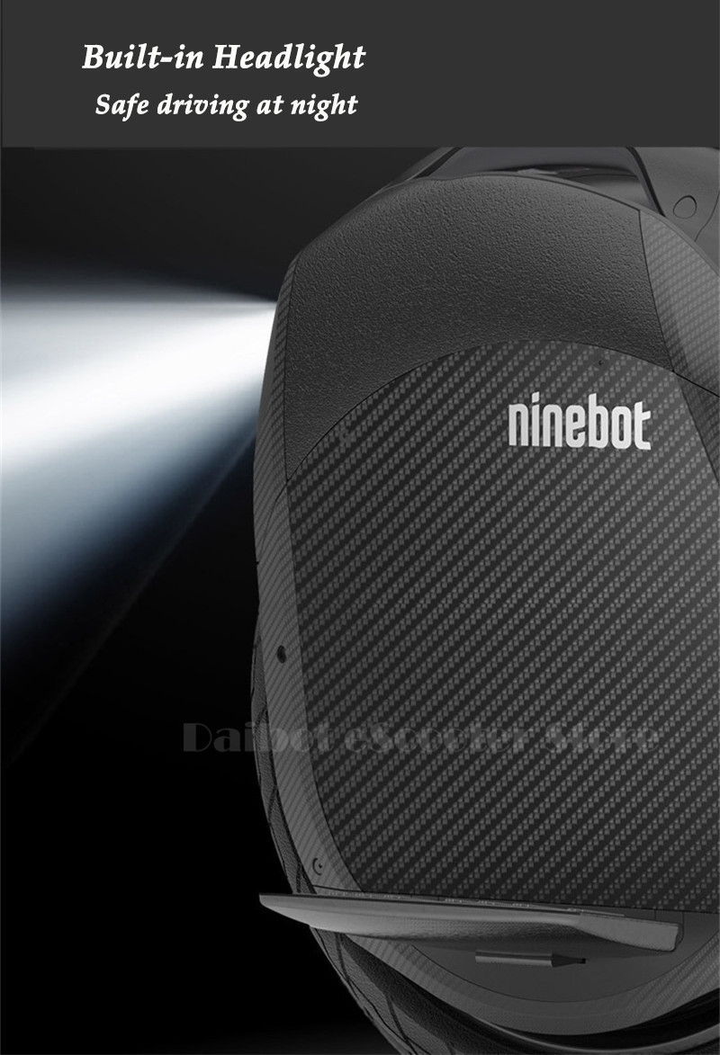 Ninebot One Z10 Powerful Electric Unicycle with Trolley Handle Self Balancing Scooters 45KMH 1800W with Bluetooth Smart APP (1)