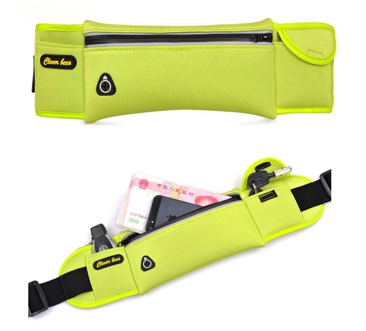 Unisex Waterproof Neoprene Belt Bags Waist Pack Bag Boys Belt Bum Bag_B4_15