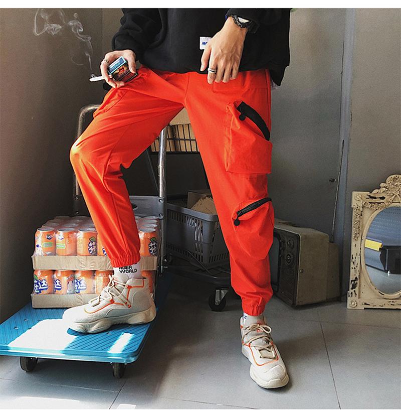 Pocket Tactical Fashions Men Hip Hop Pants Man (10)