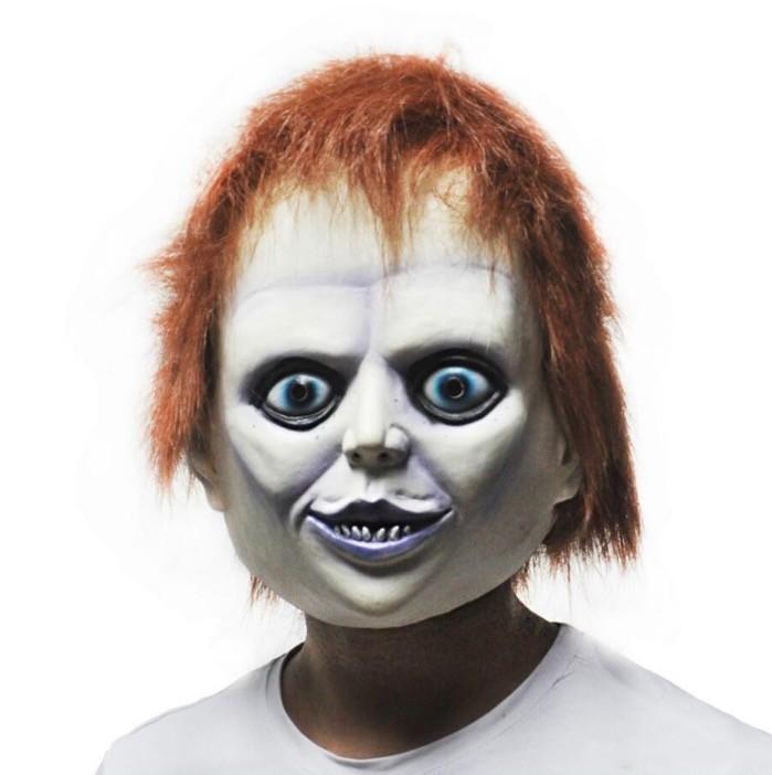 12OFF Venta Caliente de Silicona Femenina Cara Payaso Máscara Bad Boy Púrpura Labio Adulto Fiesta Mascarada Máscaras de Látex de Caucho Para Halloween