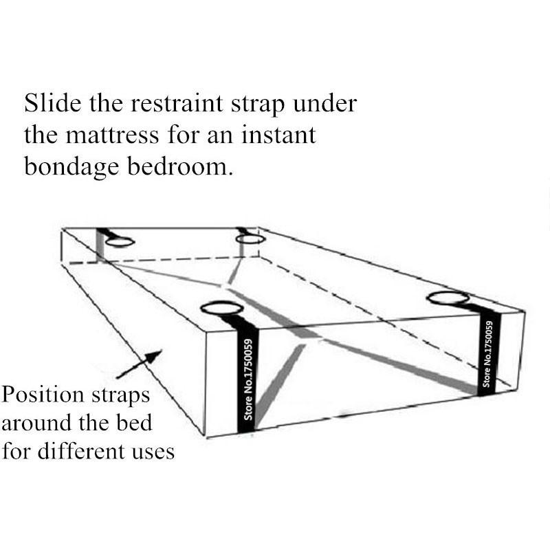 Sex-Toys-for-Couples-Under-Bed-BDSM-Bondage-Restraint-System-Fetish-Adult-Games-Set-Wrists-Ankle