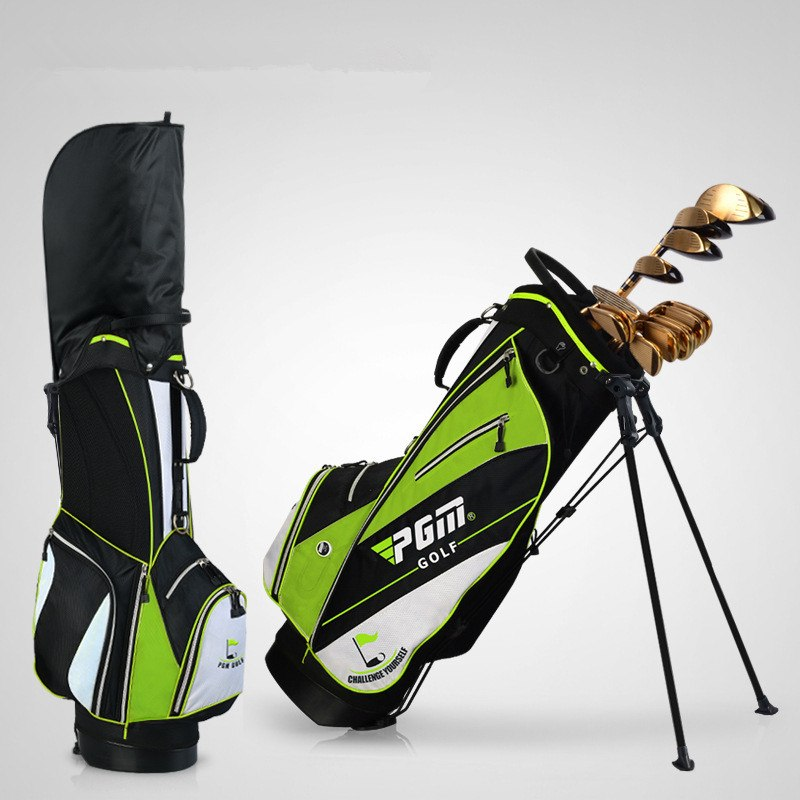 Golf bag golf rack bag Ball bag comes with pull rod pulley High hardness plastic base Advanced nylon fabric material07