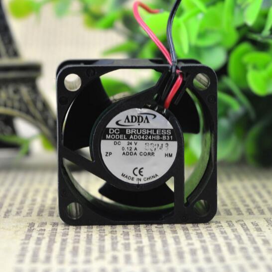 ADDA 8025 AD0824HS-A70GL 24V 0.16A 2Wire Inverter Fan