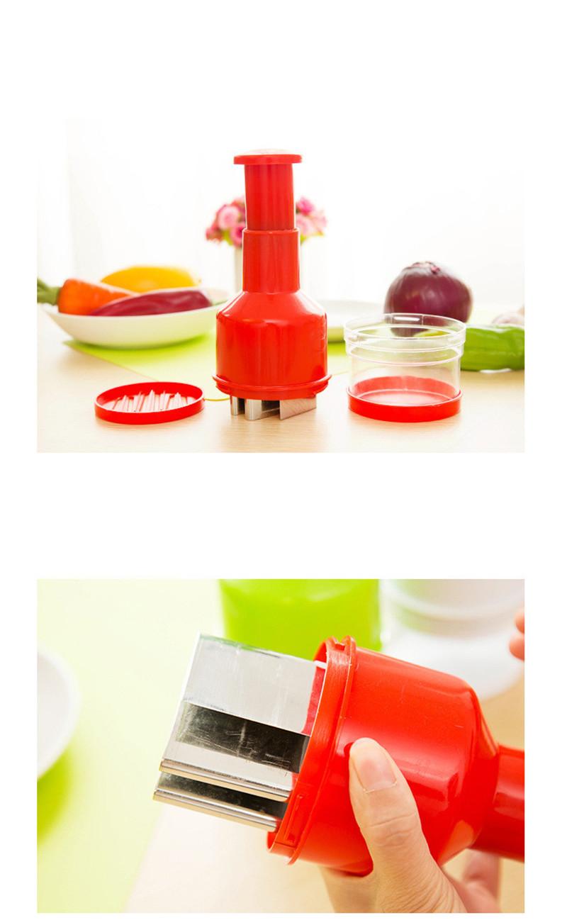 2016 New Creative Onion Slicer Multifunction Kitchen vegetable Chopper Creative Hand Garlic Press Kitchen Appliances HA115 (1)