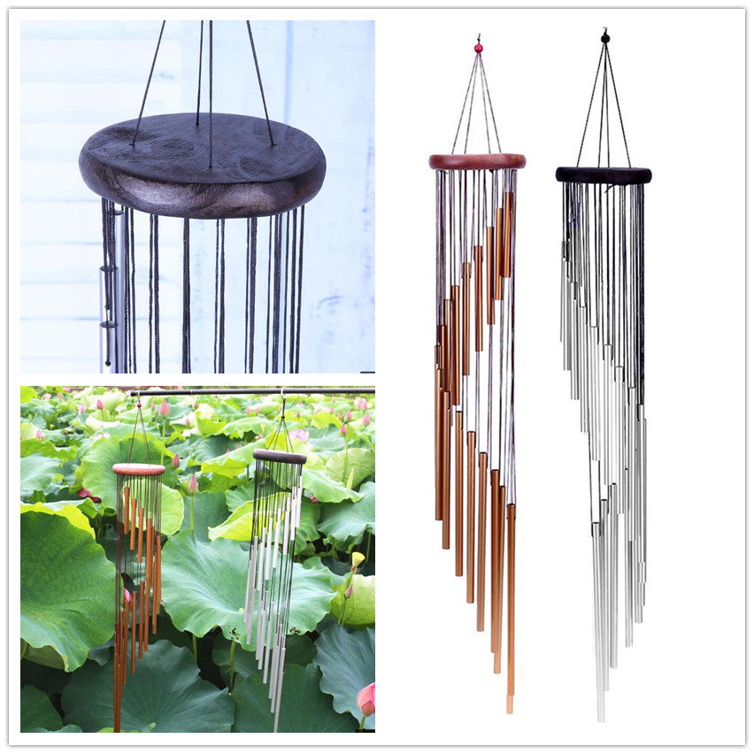 70 CM Aluminium Tubes Wind Chimes résonante cloches Outdoor Jardin Décoration De Jardin