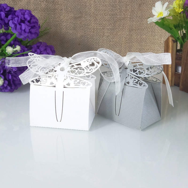 sticks hollow carved butterfly candy box baby shower gift box Christmas candy box birthday wedding party decor crafts5ZT57