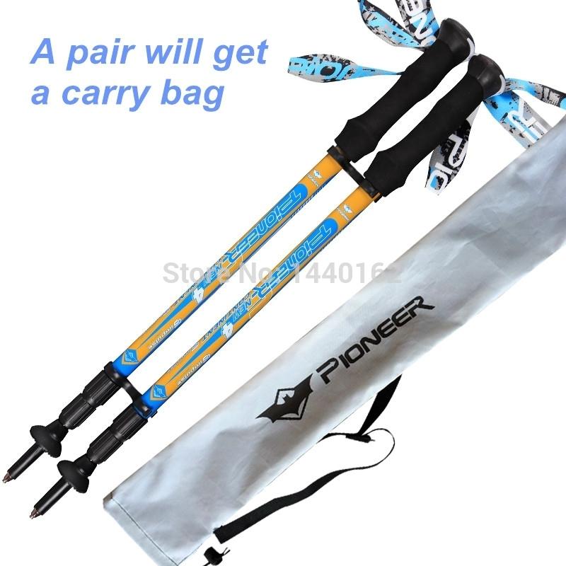 tp028 blue 2 Nordic walking sticks hiking sticks alpenstock walking cane Trekking poles mountain climbing sticks hiking pole.jpg