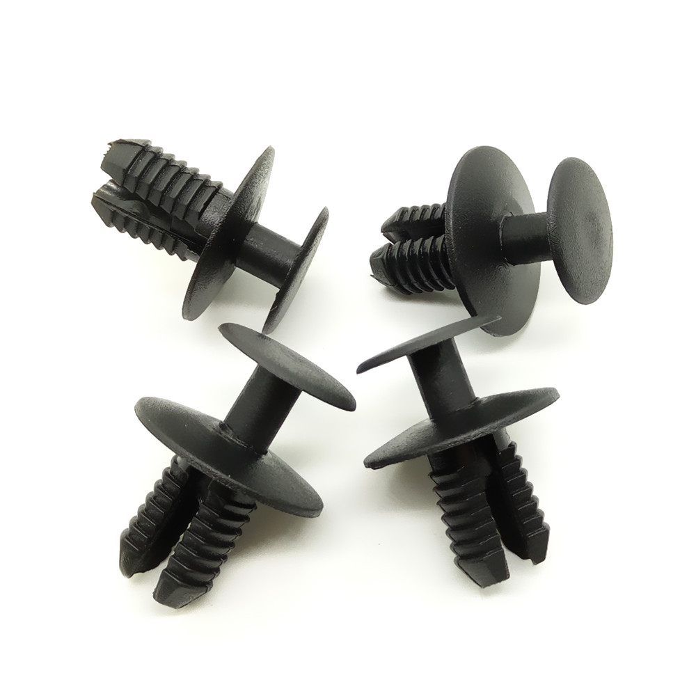 8.6mm Car Bumper Decorative Board Fender Fasteners for BMW Benz Auto universal Plastic Rivet Clips Car Styling