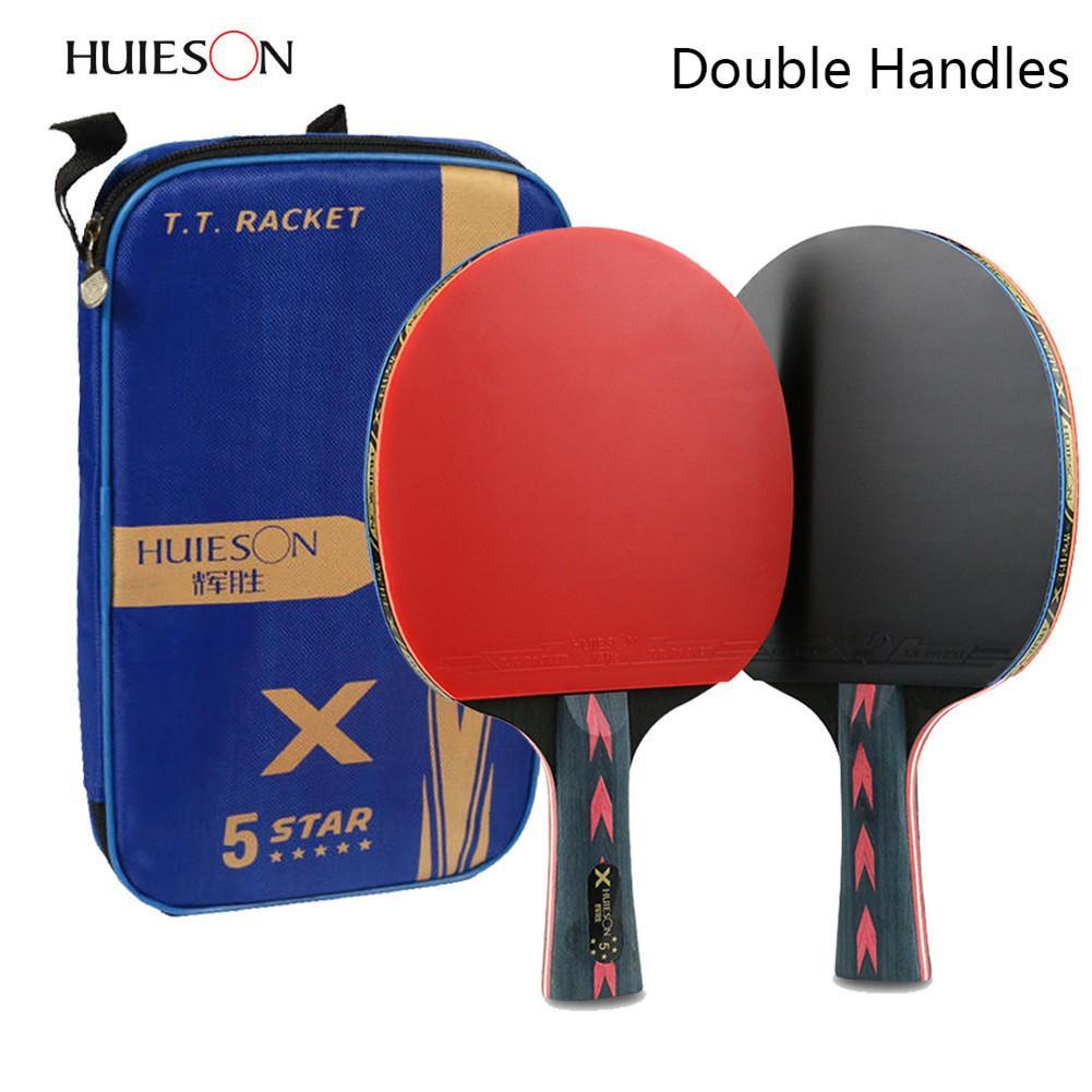+ bat DOUBLE FISH Ping Pong Paddle tennis de table raquette Hard Case sac étui cover