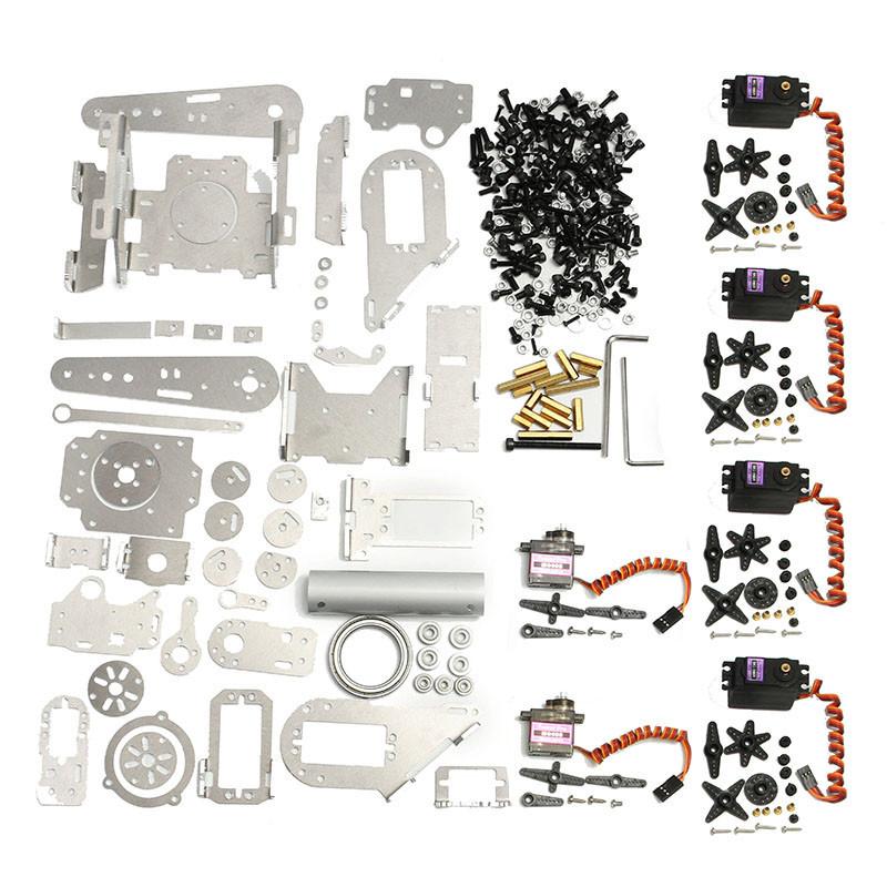 Compre Original KDX DIY 6DOF Robot De Aluminio Brazo 6 Axis Rotating  Mechanical Robot Arm Kit Con Servo A $241 19 Del Newspring88 | DHgate Com