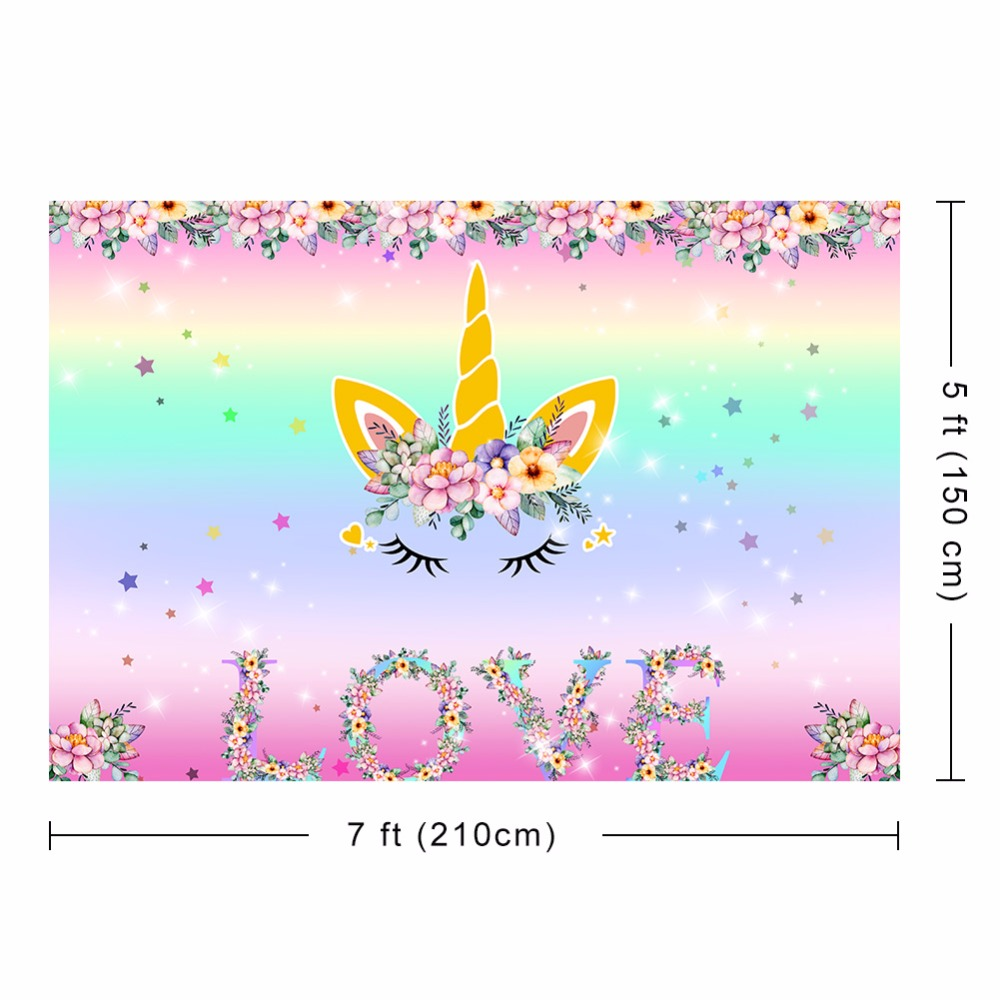 unicorn party backdrop (4)