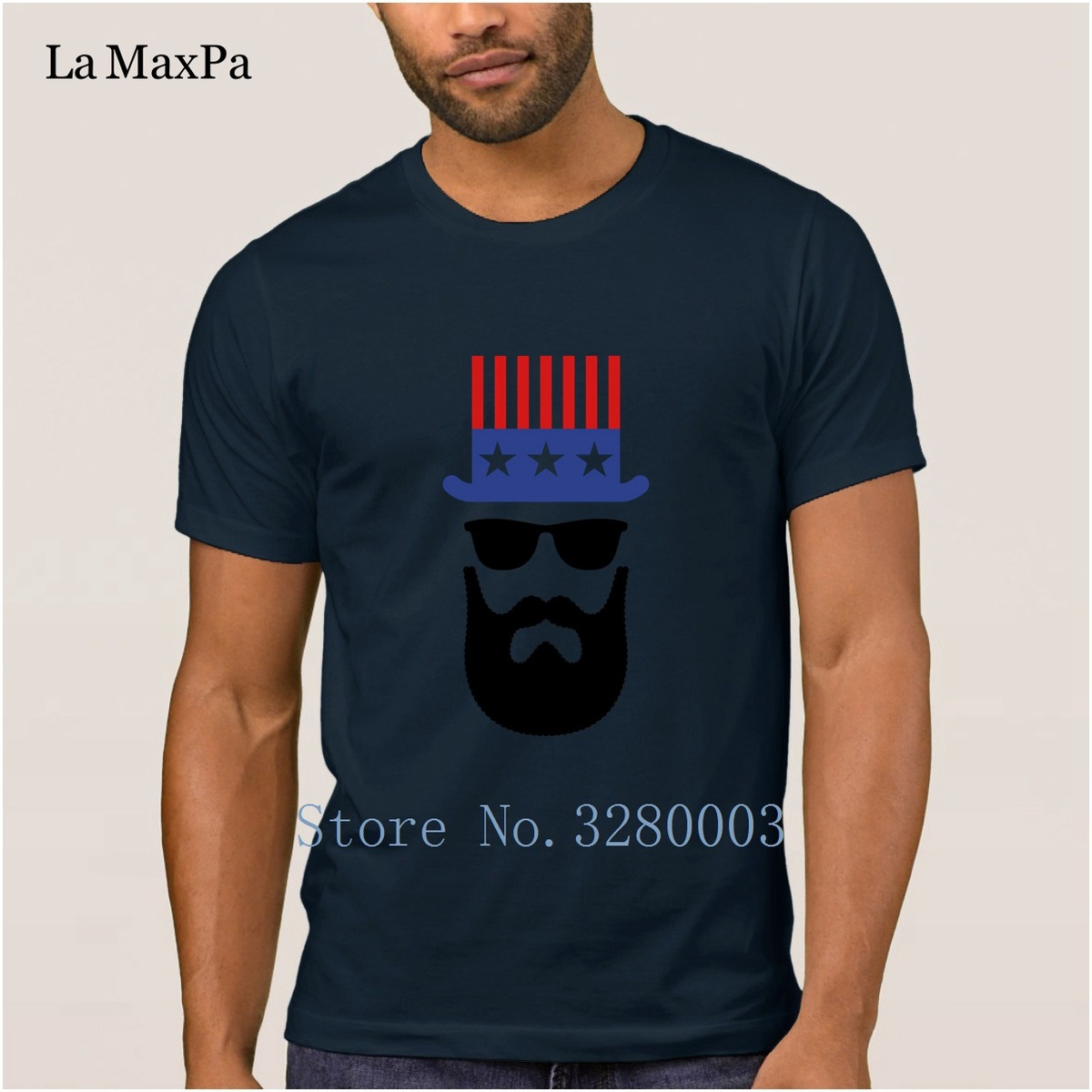 Personalized Classic Men'S T Shirt American Hipster Beard Bearded Mens T  Shirt Summer Style Novelty Tshirt 100% Cotton Crazy Online T Shirt Printing