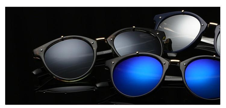 2016 Classic Brand Designer Sunglasses Women Men Retro Round Sun Glasses Woman shades Mirror Eyewear Lady Male Female Sunglass (24)