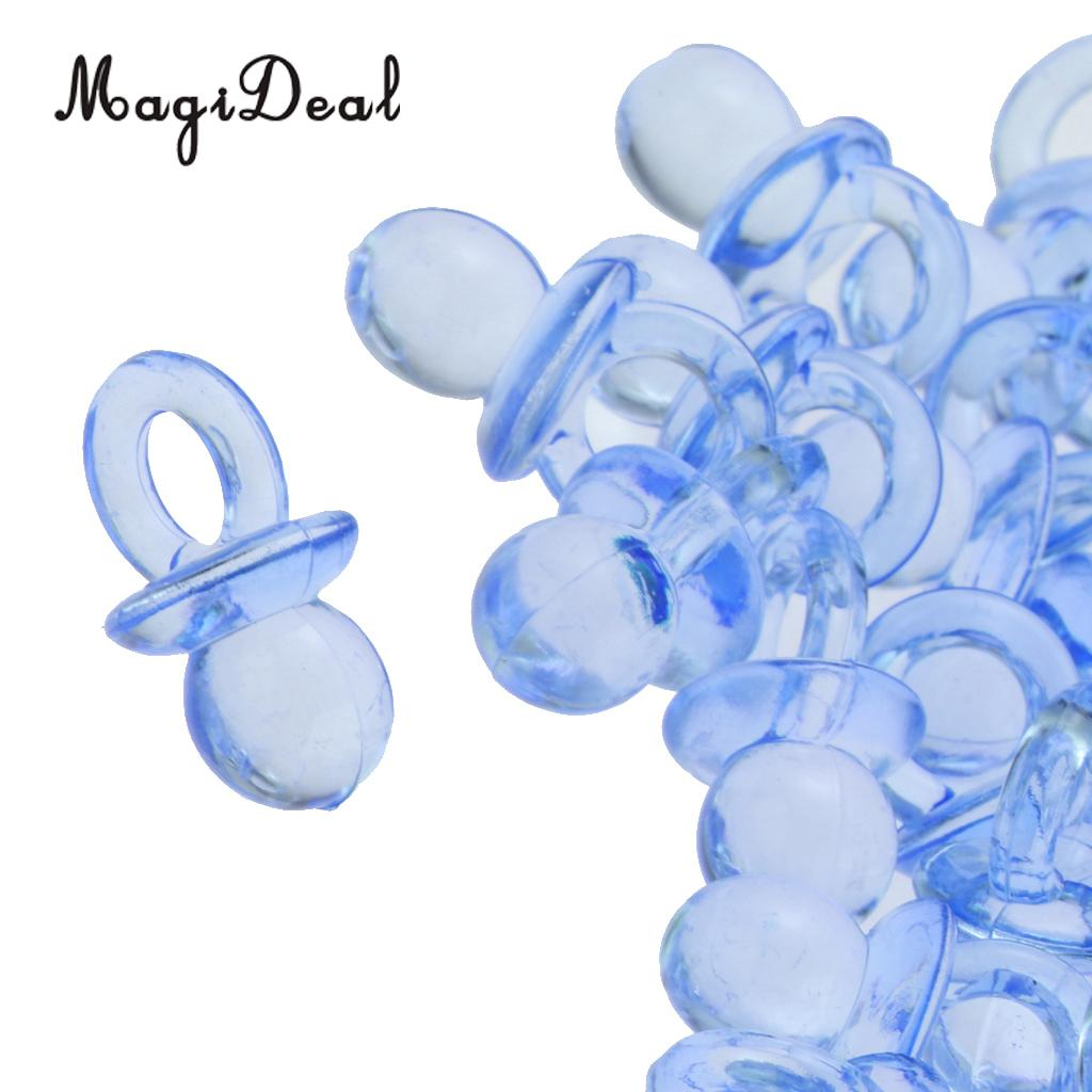 MagiDeal 200pcs Mini Pacifier Charms Game Prizes Gifts Baby Shower Gift Favor