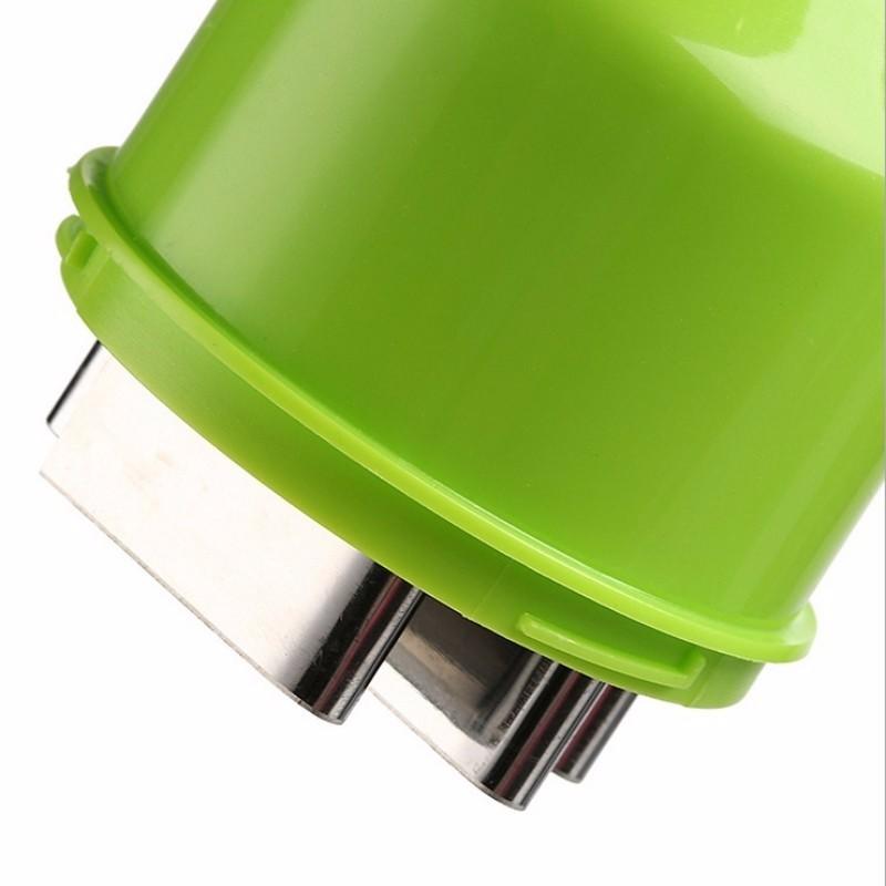 1pc Multi-functional Hand Chopper Plastic Garlic Presses Fruit Salad Vegetable Onion Chopper Cutter Garlic Grinding Kitchen Hand Tool (3)