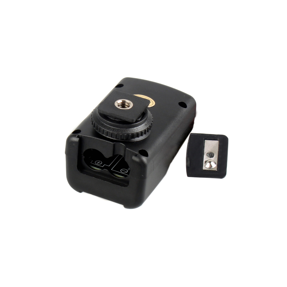 wholesale PT-04GY 4 Channels Wireless Remote Flash Trigger for Canon Nikon Pentax Olympus with Universal 1 Transmitter&2 Receivers