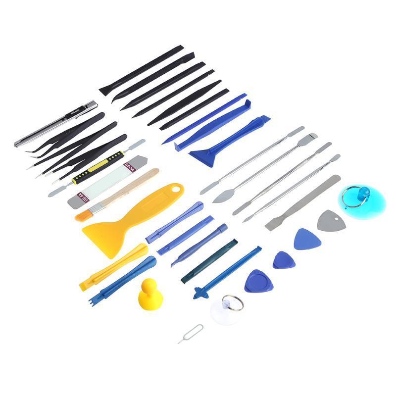 37 en 1 Kit de herramientas de reparación de desmontaje de apertura para Smart Phone Notebook Laptop Tablet Kit de reparación de herramientas de mano