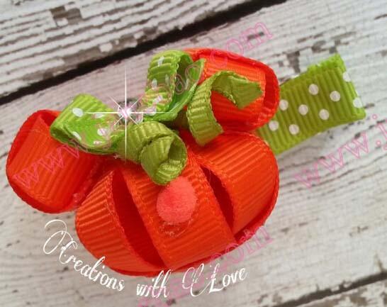 Pumpkin Minnie Mouse