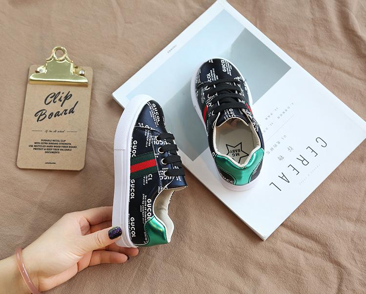 2019 Automne Enfants Casual Enfants Chaussures Garçons Filles Chaussures Mode Baskets Chaussures de Sport En Plein Air Pour Enfants Taille 26-35