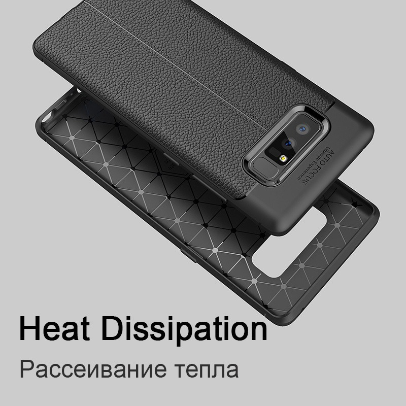 Luxury Carbon Case For Samsung Galaxy Note 8 S8 Plus Cover Leather TPU Soft Coque For Samsung S7 Edge A3 A5 2017 J5 J7 2016 Case (3)