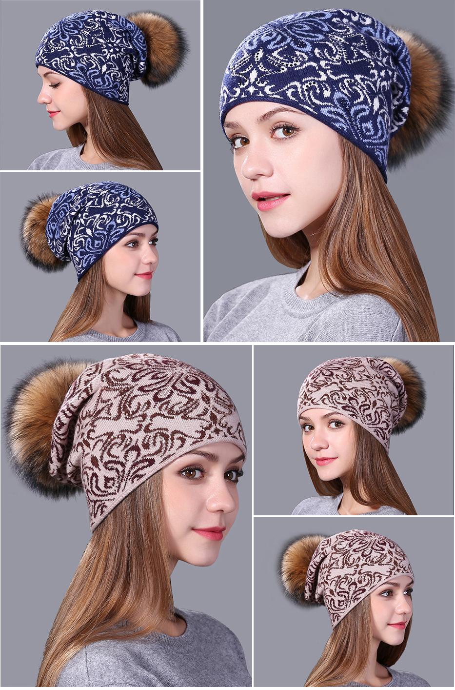 Compre Xthree China Bule E Estilo Branco De Lã De Malha Chapéu Do ... abe723c394d