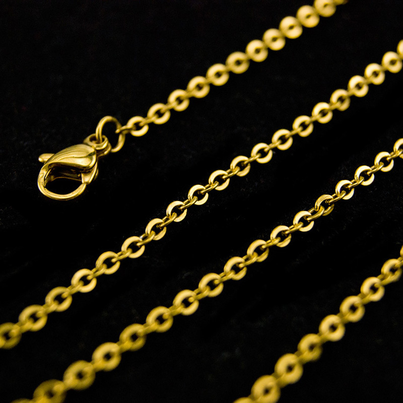 DIY-woman-gold-chain-necklace-Jewelry-making-2mm-ROLO-Chains-bulk-necklace-Stainless-Steel-Customize-not (1)