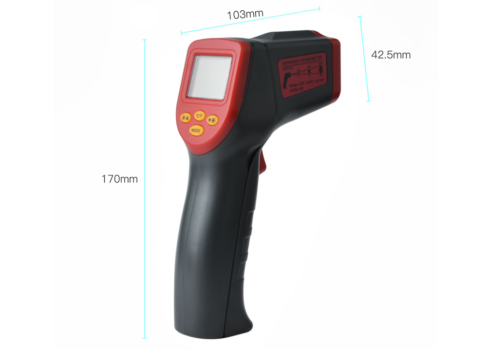 A530 Non-contact Digital Infrared Thermometer Temperature Gun