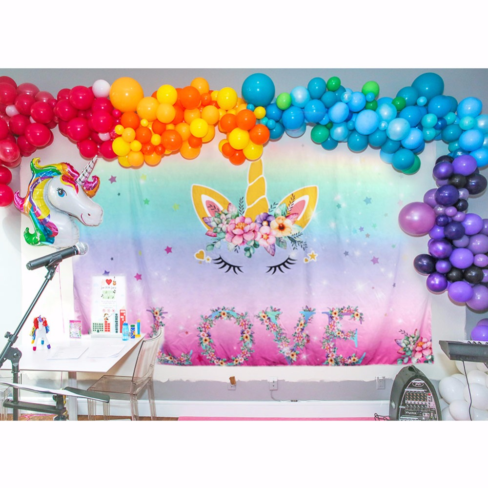 unicorn party backdrop (10)