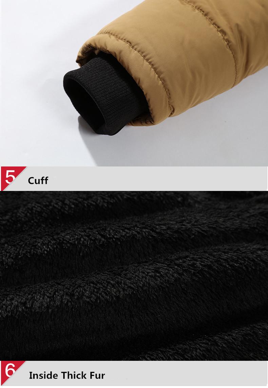 W102 2016 Mens Winter Jackets Coats Outwear Warm Down Jacket Thick Outdoor Hoodie Fox Fur Men\`s Parka Plus Size 4XL Famous Brand (13)