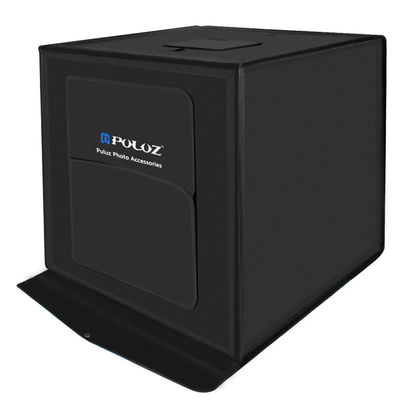 wholesale 60*60cm 24 inch portable mini photo studio box softbox 30W 5500LM White Light Photo Lighting Studio Shooting Tent Box Kit