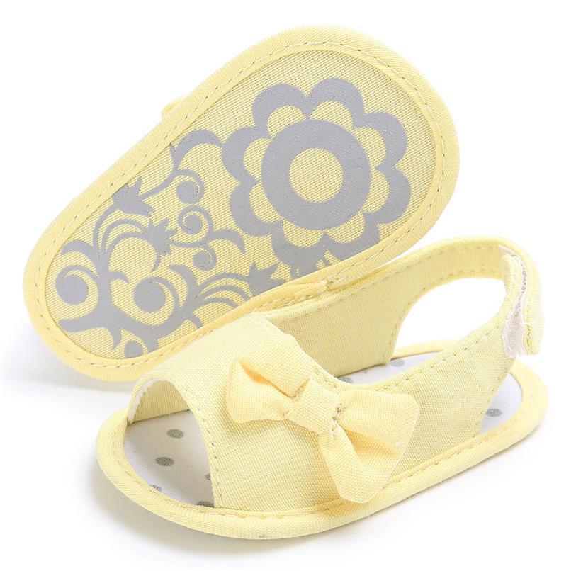 Summer Baby Shoes Newborn Toddler Baby Girl Soft Sole Bowknot First Walker Crib Prewalker Shoes NDA84L24 (17)