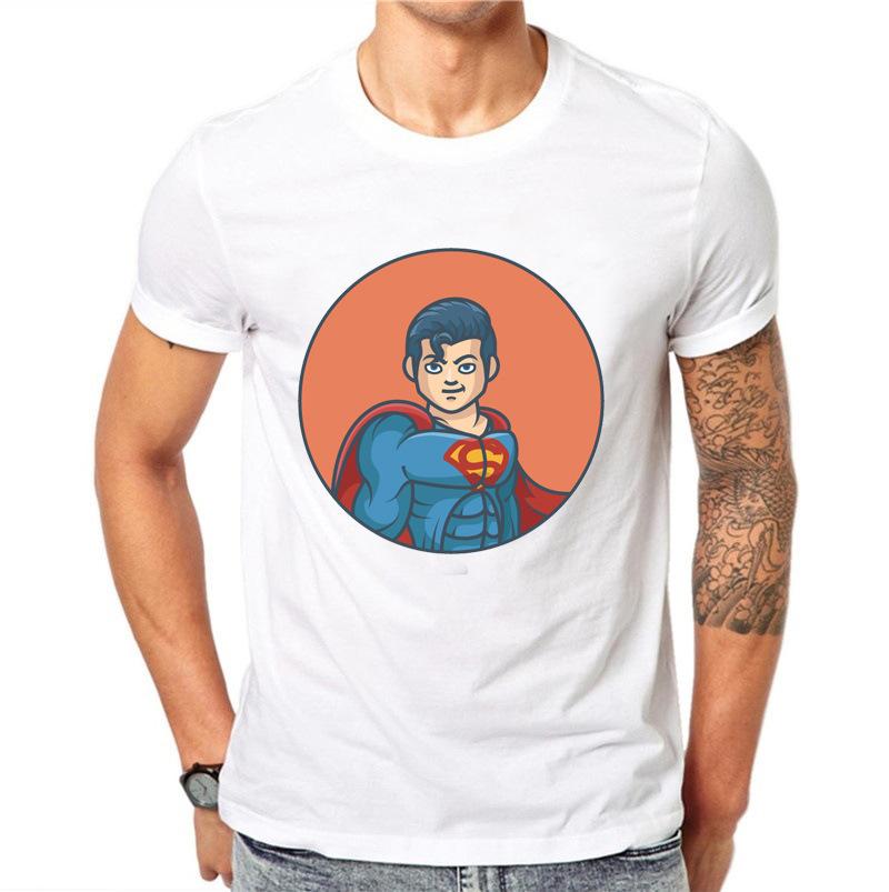 Uomo T Pity Dc Hero Cartoon Cartoon modello stampa T Pity Man
