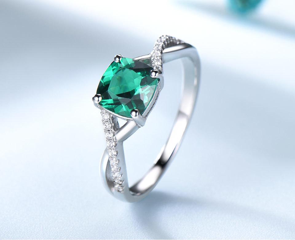 UMCHO-Emerald-925-sterling-silver-rings-for-women-RUJ086E-1-pc_03