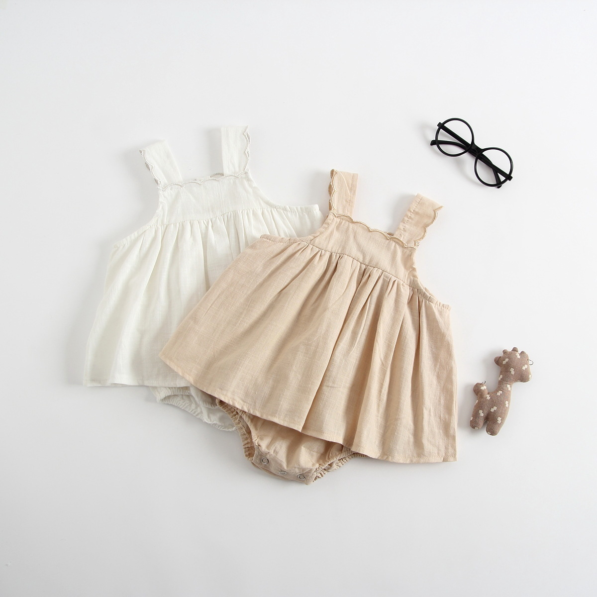 Princess Strawberry Romper Floral Jumpsuit Newborn Girls Baby Romper Tutu Dress