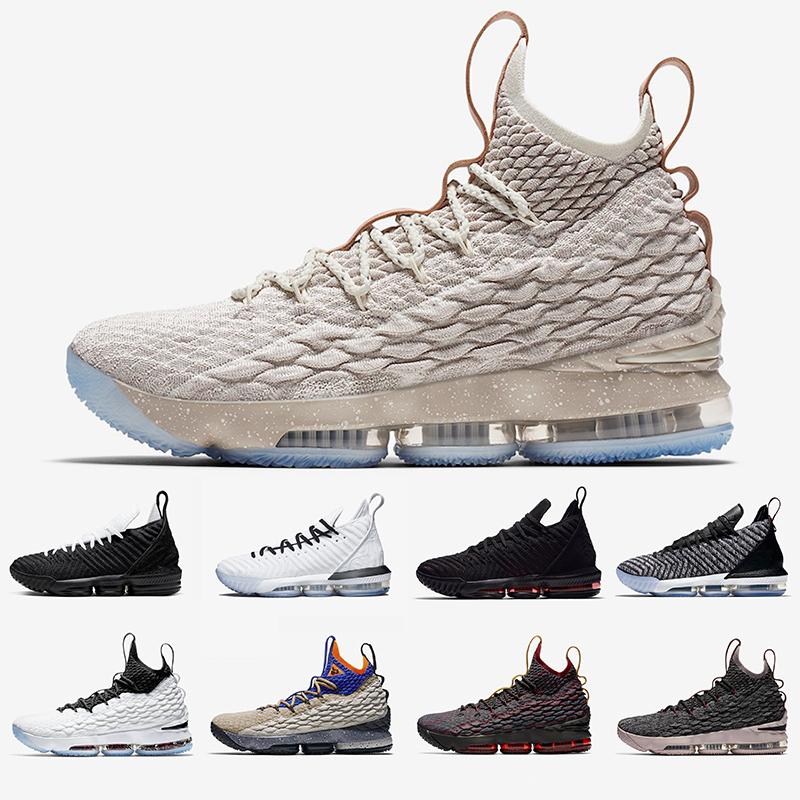 Nike LBJ Lebron James 16 Mens Basketball Shoes Ashes Ghost BHM Graffiti 16s Lebron 15 Equality Away Four Horsemen Fresh Bred men sports sneakers 40 46