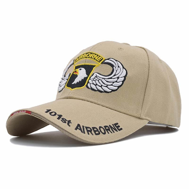 Army 101st Airborne Division Classic Adult Caps Printing Bend Along Baseball Hats Snapback Men Women Hats Adjustable