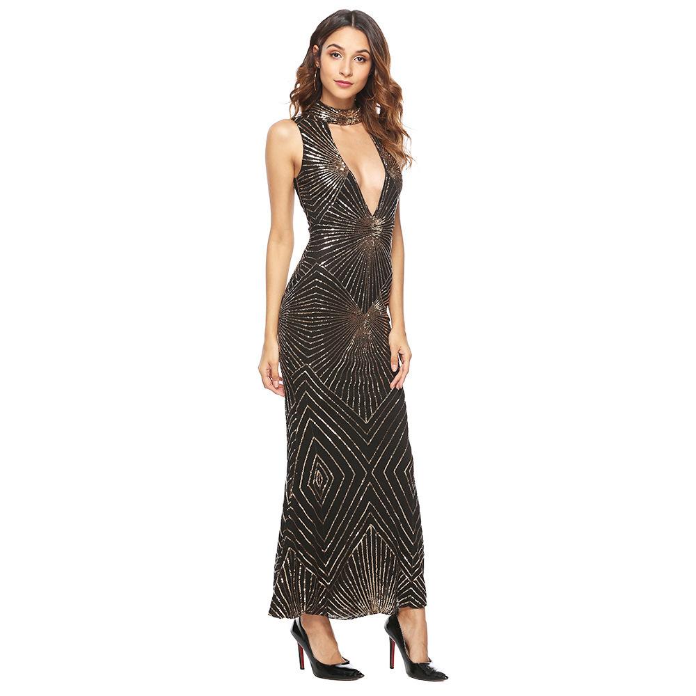 sequin maxi dress 2496 (3)