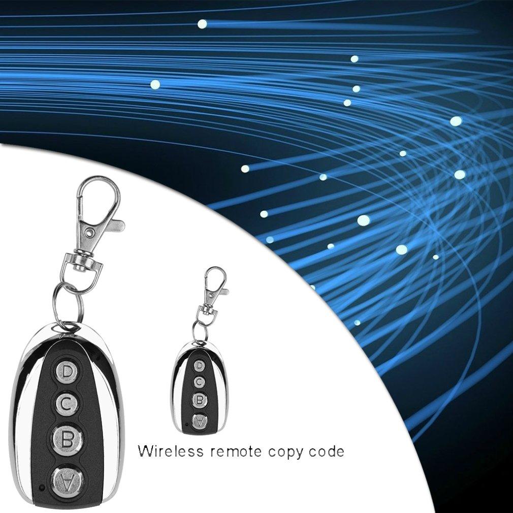 Universal 433.92M Metal Wireless 4 Key Garage Door Universal Copy Remote Control